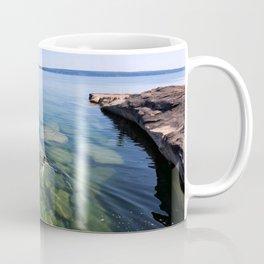 Serenity Swim in Lake Superior Coffee Mug