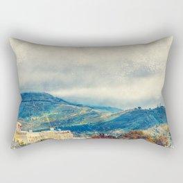 Trapani art 15 Sicily Rectangular Pillow