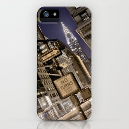 Chrysler Building - New York Artwork / Photography iPhone Case