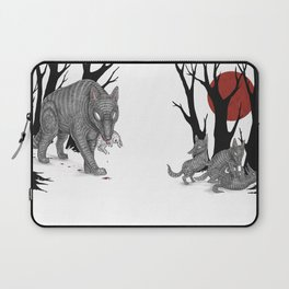Four Arms - Wolf & Pups Laptop Sleeve