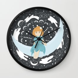 Fancy night Wall Clock