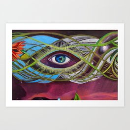 Unified Vision- Detail Art Print