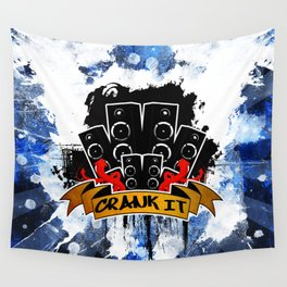 Crank It to Eleven Wall Tapestry