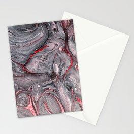 Vesuvius Volcano Marble Print Stationery Cards
