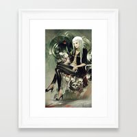 witch Framed Art Prints featuring Witch by Lappisch