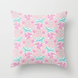 Derby Party Throw Pillow