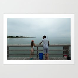 Family Time Art Print