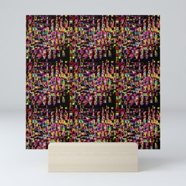 Pattern Levels Mini Art Print