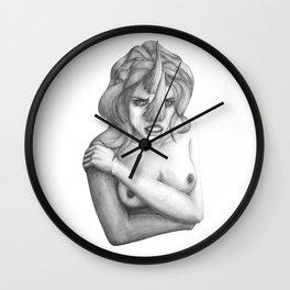Horn Wall Clock