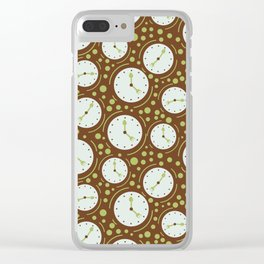 Meal Time Clear iPhone Case