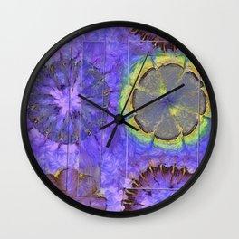 Resistability Woof Flower  ID:16165-105348-97381 Wall Clock