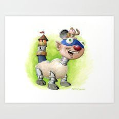 Billymobile Art Print
