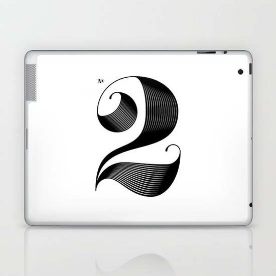 No. 2 Laptop & iPad Skin