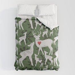 Christmas Deer Comforters