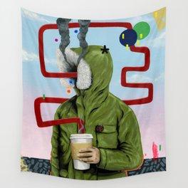 Caffeine Boost Wall Tapestry