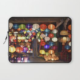 Colored lanterns Laptop Sleeve