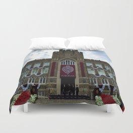 Fordham University Commencement Keating Hall Duvet Cover
