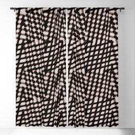 Checked Blackout Curtain