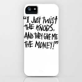 DREAM JOB iPhone Case