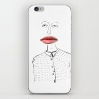 human iPhone & iPod Skins featuring Human by Stina Nilsson