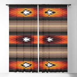 American Native Pattern No. 141 Blackout Curtain
