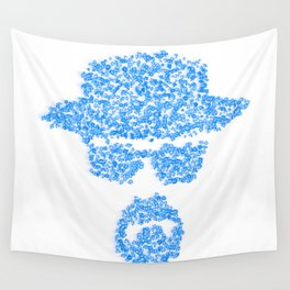 Breaking blue Wall Tapestry