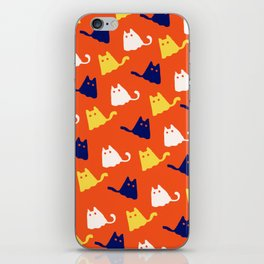 Ghostly Cats iPhone Skin