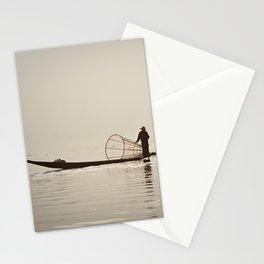 Inle Lake Myanmar Stationery Cards
