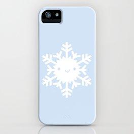 Kawaii Snowflake iPhone Case