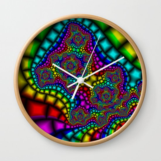 Colour Adour Wall Clock