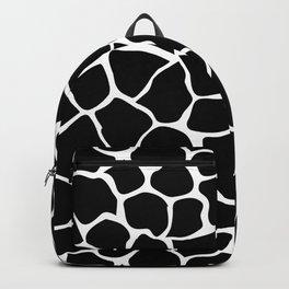 Black & White Animal Print Backpack
