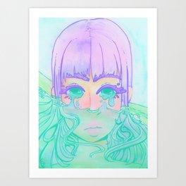 Flooding Art Print