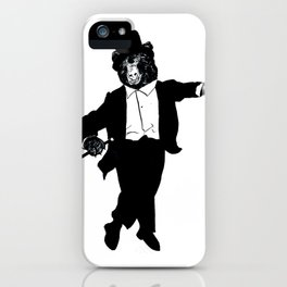 Tap Dancing Bear iPhone Case