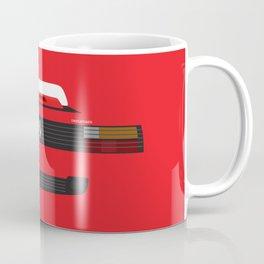 Minimal Testarossa Coffee Mug