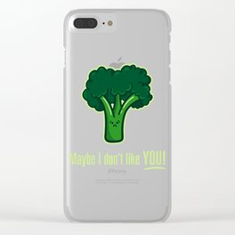Vile Weed Clear iPhone Case