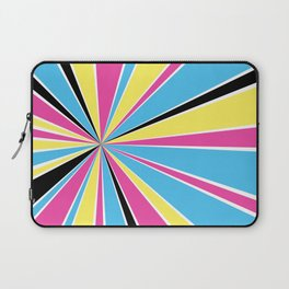CMYK Star Burst Laptop Sleeve