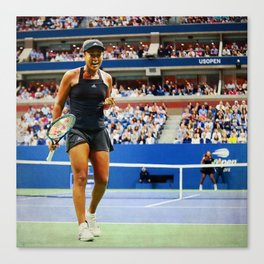 Naomi Osaka Tennis Champion Canvas Print