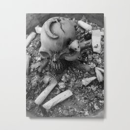smoking kills Metal Print