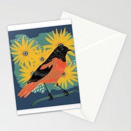 Oriole + Black Eyed Susans, 2020, Kayla Kinsella Meier Stationery Cards
