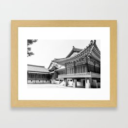 The King's Bed Chambers_Changdeokgung Palace Framed Art Print