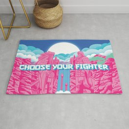 Choose Your Fighter Rug