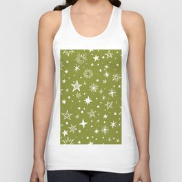 Multiple shapes and sizes stars IV Unisex Tank Top