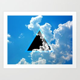 Void in the Sky Art Print