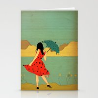 lonely Stationery Cards featuring Lonely by Danelys Sidron