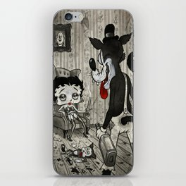 BETTY AND THE WOLF iPhone Skin