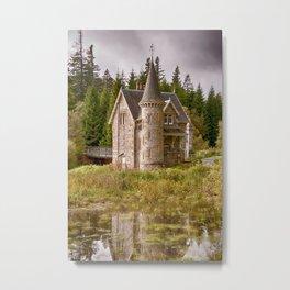 Ardverikie Gatelodge 2 Metal Print