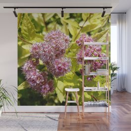 Lilac flowers Wall Mural