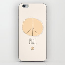 Lovely Little Peace Sign iPhone Skin