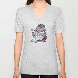 A Geeky Marmot Unisex V-Neck