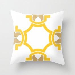 Four sides two Throw Pillow